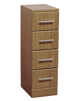 Essential Gem Calvados 4 Drawer Unit 350x766mm - EF107C