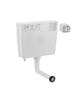 Image of Geberit Pneumatic Operated Concealed Dual Flush Cistern - 109.720.00.1