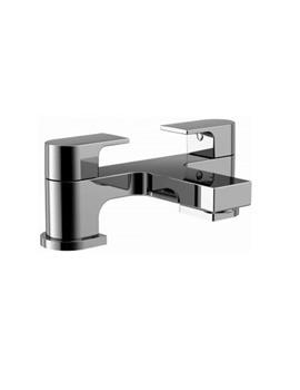 Essential Dusk 2 Hole Bath Filler Tap Chrome - ET109