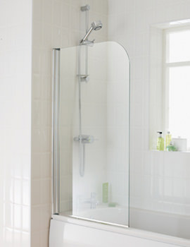 Essential Element Bath Screen 750x1300mm - EB301