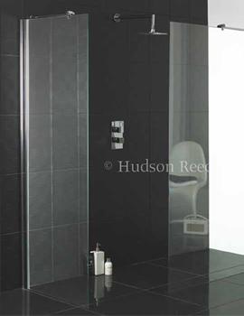 Hudson Reed Wetroom Shower Screen 700mm Wide x 2000mm High-WRSB700