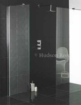 Related Hudson Reed Wetroom Shower Screen 800mm Wide x 2000mm High-WRSB800