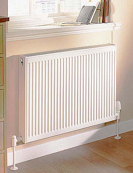 Single Panel Compact Radiator 400 x 500mm 11 K - Q11504KD