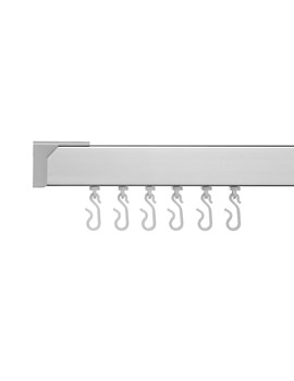 Profile 400 Standard Shower Rail 2135mm Silver - GP81300