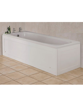 Unfold N Fit Bath Panel Gloss White - WB995122
