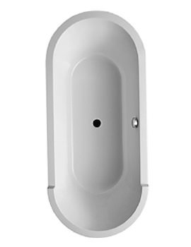 Duravit Starck Oval Double-Ended Bathtub 1800 x 800mm - 700013