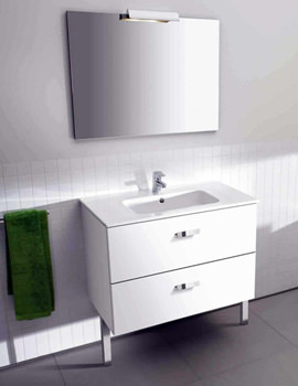 Victoria Unik Base Unit With Basin And Mirror Set - 855748806