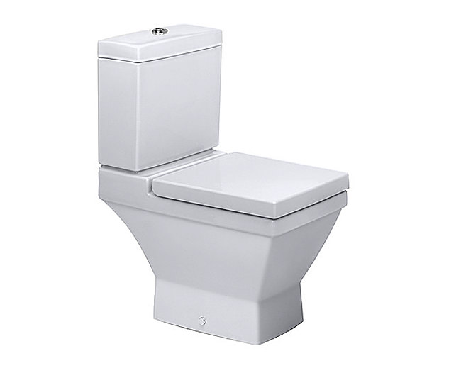 duravit 2nd floor close coupled toilet with horizontal outlet. Black Bedroom Furniture Sets. Home Design Ideas