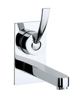 Related Roca Moai Wall Mounted Basin Mixer Tap On Chrome Plate - 5A4746C00