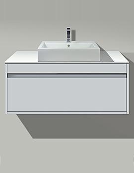Related 2nd Floor Washbowl 580mm On Ketho Vanity Unit 800mm - KT 6794 - 031758