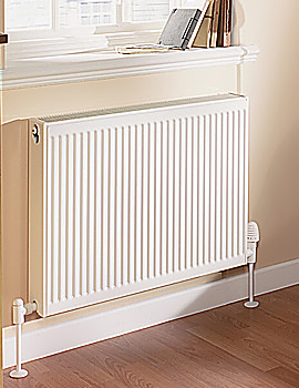 Quinn Compact Double Panel Convector Radiator 1400 x 600mm - Q22614KD