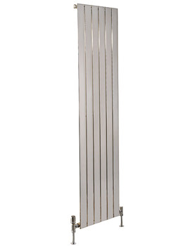 Capri Vertical Single Panelled Radiator Chrome 600 x 1800mm