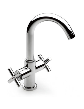 Loft Basin Mixer Tap With Pop-Up Waste - 5A3043C00