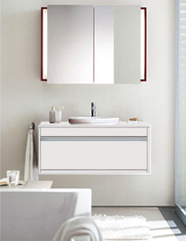 Image of Starck 1 Washbowl 460mm On Ketho Vanity Unit 1200mm | KT 6696 | 044546