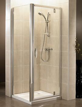 April Identiti2 Pivot Shower Door 700-760mm - AP9470S