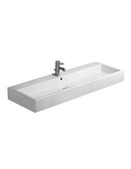 Image of Duravit Vero Washbasin 1200 x 470mm With Overflow - 0454120000
