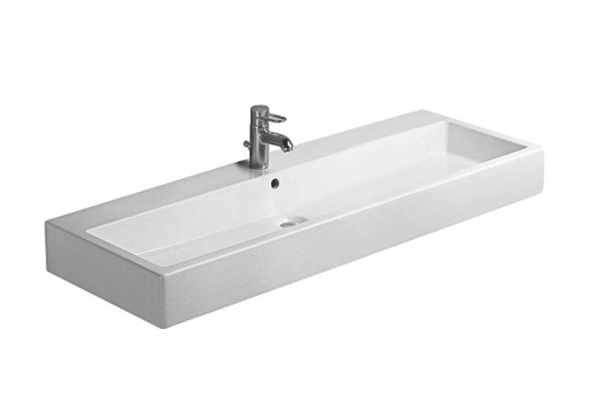 Large Image of Duravit Vero Washbasin 1200 x 470mm With Overflow - 0454120000