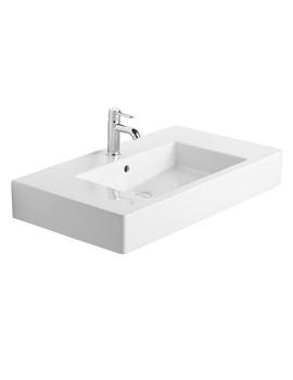 Related Duravit Vero 850 x 490mm 1 Tap Hole Furniture Basin - 0329850000