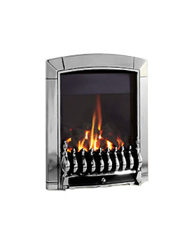 Caress Slide Control Traditional HE Inset Gas Fire Chrome - FHEC6JSN