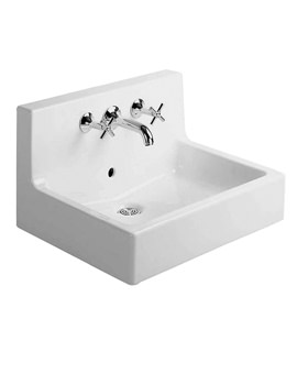 Duravit Vero Washbasin 600 x 470mm with Back Panel  - 0453600000