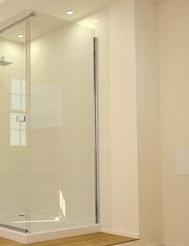Related April Prestige2 Frame-less Side Shower Panel 760mm - AP8906
