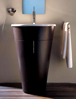 Starck Floorstanding 560mm Vanity Unit And 580mm Basin