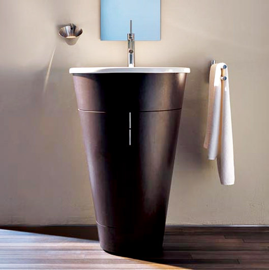 duravit starck 1 furniture 560mm washbasin 580mm s1952001313. Black Bedroom Furniture Sets. Home Design Ideas