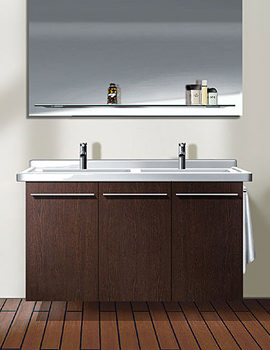 Starck 3 Washbasin 1300mm On X-Large 1200mm Furniture - XL606801818