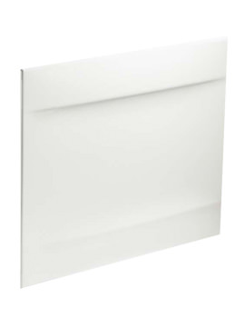 Twyford Callisto Galerie 800mm White Bath End Panel - GN7422WH