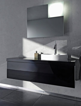 Starck 1 Basin 470mm on Starck Furniture 835mm - S1952600505