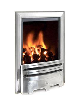 Flavel Kenilworth Remote Control HE Inset Gas Fire Silver - FHKC37RN2