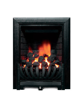 Be Modern Avantgarde Traditional Full Depth Inset Gas Fire Black 00961X