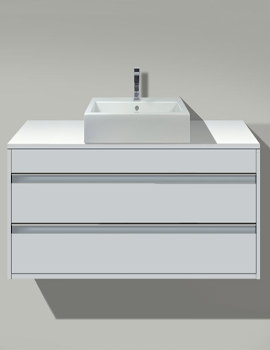 2nd Floor Basin 600mm On Ketho Furniture 800mm - 034760 - KT 6754
