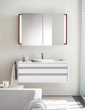 Bacino Washbowl 420mm On Ketho 1200mm Furniture - 032542 - KT 6656