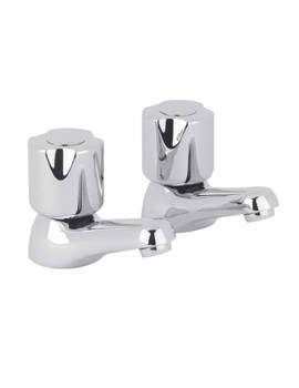 Roca Danube-N And Danube-Cross Basin Pillar Taps - 020211C00