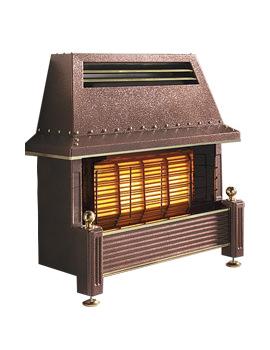 Flavel Regent Manual Control Outset Gas Fire Bronze - FRGCP0MN
