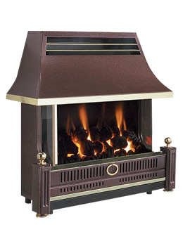 Flavel Renoir Outset Remote Control Gas Fire Bronze - FRECR0RN