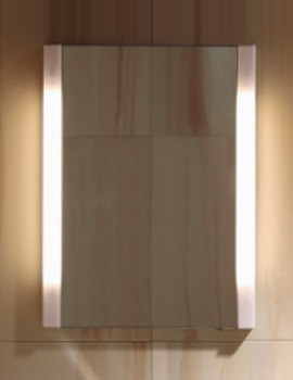 Ketho 650mm Single Door Mirror Cabinet - KT7530L1818