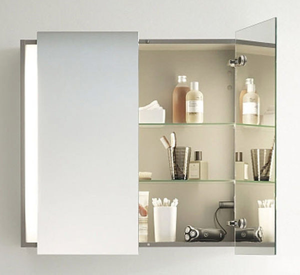 Duravit ketho mirror cabinet with lighting 180 x 1000mm for Bathroom mirror cabinets 900mm and 1000mm