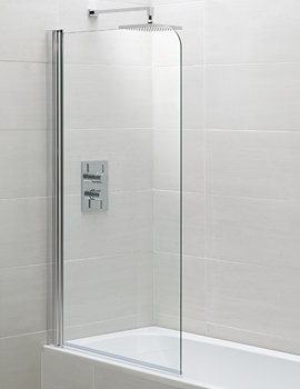 April Identiti2 Single Bath Screen 800mm - AP9575S