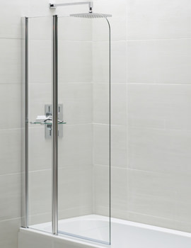 Identiti2 900 x 1400mm Fixed Panel Bath Screen