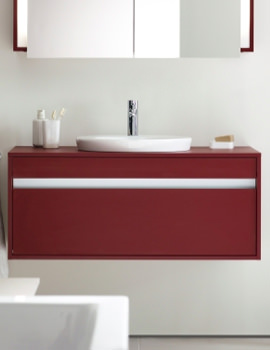 Related Architec Basin 400mm On Ketho Furniture 1200mm - KT689601818