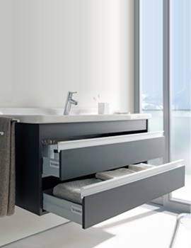 Starck 3 Basin 490mm On Ketho Furniture 1000mm - KT685501818