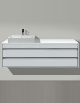 Vero Basin 485mm On Ketho Furniture 1400mm - KT6857B1818