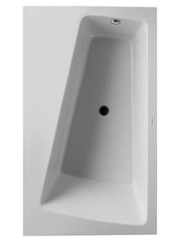 Duravit Paiova Monolith Corner Left Bathtub 1700 x 1000mm - 700270