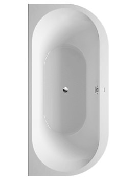 Image of Duravit Darling New Back-To-Wall Bathtub 1900x900mm White | 700248