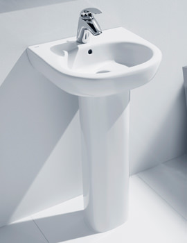 Meridian-N Wall Hung Wash Basin 500mm Wide - 327244000
