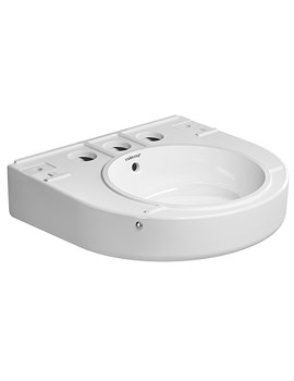 Related Duravit Onto Washbasin With Overflow 335mm Dia - 263052