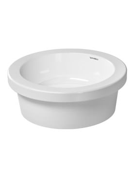 Duravit Onto Vanity Basin 430mm dia With Overflow - 262943