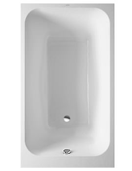 Duravit Onto Rectangle Bath 1400 x 800mm With Support Frame - 700237